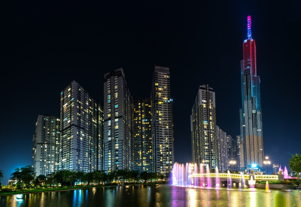 The Landmark 81 in Ho Chi Minh City